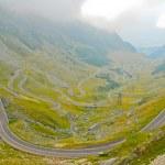 Transfagarasan road in the Carpathians, Romania, Europe — Stock Photo