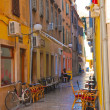 Street in Dubrovnik during the summer — Stock Photo