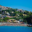 Stock Photo: Mediterranesecoast and beach