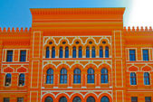 Detail of colored mosque — Stock Photo