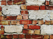 Weathered brick wall background — Stock Photo