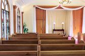 Wedding chapel interior — Stock Photo