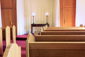 Wedding chapel interior — Stock Photo