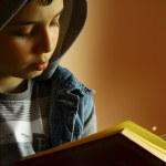 Reading books — Stock Photo