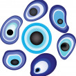 Royalty-Free Stock Imagem Vetorial: Evil eye (amulet).