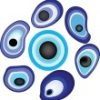 Royalty-Free Stock Vectorafbeeldingen: Evil eye (amulet).