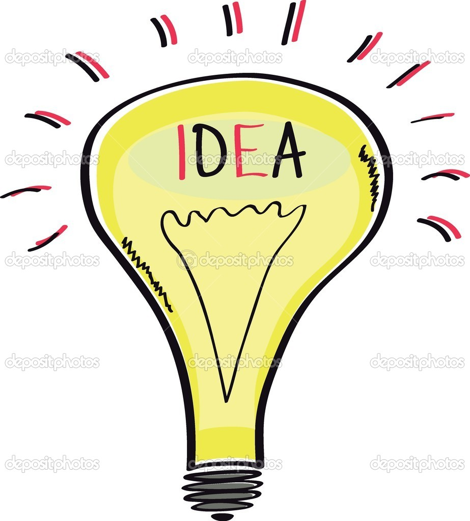 Cartoon Light Bulb http://depositphotos.com/9003379/stock-illustration-Light-bulb-cartoon-sketch-idea..html