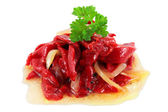 Salad of peppers — Stock Photo