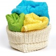 Multi-colored towels — Foto de Stock