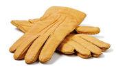 Herren-ingwer-handschuhe — Stockfoto