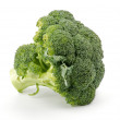 Single broccoli floret — Stock Photo