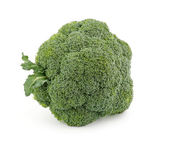Single broccoli floret — Stockfoto