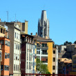 Architecture in Girona — Stock Photo