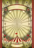 Cartel divertido circo — Foto de Stock