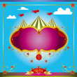 Circus fun leaflet - Stock Vector