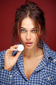Beautiful model — Stock Photo