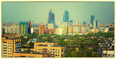 Panorama of Moscow — Stock Photo
