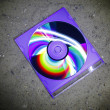Cd on the beach — Stock Photo