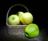 Apple still life — Stock Photo