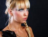Porträtt i studio — Stockfoto