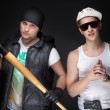 Bad boys — Stock Photo #8929536