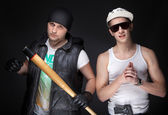 Bad boys — Stock Photo