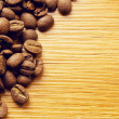 Background of coffee beans — Stock Photo