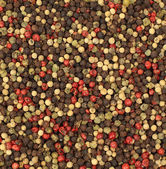 Mixed peppercorns - food spicy background — Stock Photo