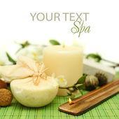 Spa treatments background — Stock Photo