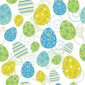 Easter seamless — Stock Vector