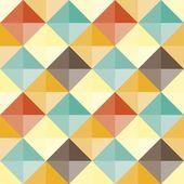 Abstract geometric pattern retro — Stock Vector