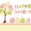Royalty-Free Stock Vector Image: Easter background set
