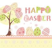 Easter background set — Stock Vector