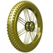 Gold Bike Tire Trophy — Stock Photo