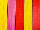 En bois de couleur — Photo
