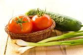 Здоровые овощи — Стоковое фото