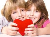 Child heart — Stock Photo