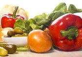 Verduras frescas y sanas — Foto de Stock