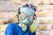 Protective mask — Stock Photo