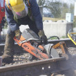Stockfoto: Railway Track Maintenance
