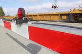 Passaggio ferroviario — Foto Stock