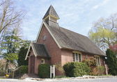 Clayburn Historical Church — Stock Photo