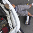 Stock Photo: MRepairing his Car