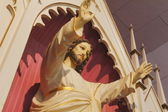 Close on a Statue of Jesus Christ — Stock Photo