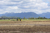 Field Being Plowed — Stock Photo