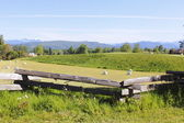 Farmland in the Fraser Valley — Stock Photo