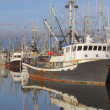 Pacific Northwest Fishing Boats — 图库照片
