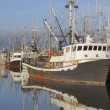 Pacific Northwest Fishing Boats — Stockfoto