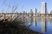 Vancouver Beside False Creek — Stock Photo