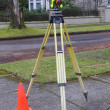 Surveyors Prism — Stockfoto